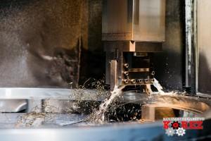 Drehen auf CNC-Vertikal-Drehmaschine