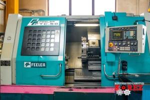 CNC-Horizontal-Drehmaschine FEELER FTC-50