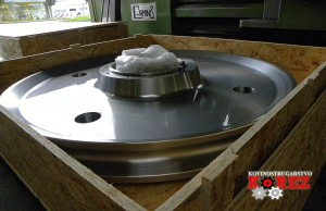 In der Kovinostrugarstvo Korez Karol s.p. werden Produkte entsprechend beschichtet und für den Transport vorbereitet