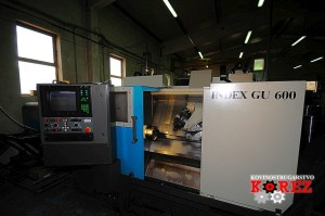 INDEX GU 600 CNC horizontal lathe