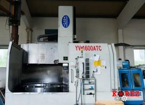 Vertical lathe (Carousel) YV-1600 ATC
